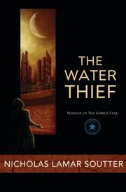 Book Cover for THE WATER THIEF