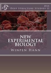 NEW EXPERIMENTAL BIOLOGY by Winpen Hann