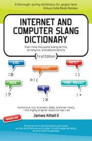 Book Cover for INTERNET AND COMPUTER SLANG DICTIONARY