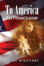 Cover art for TO AMERICA WITH PROFOUND GRATITUDE