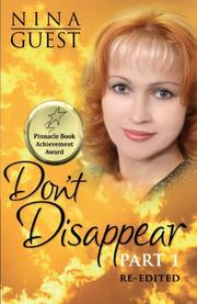 Cover art for DON'T DISAPPEAR