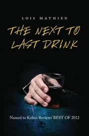 Cover art for THE NEXT TO LAST DRINK