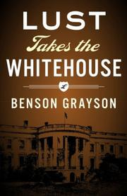 Cover art for LUST TAKES THE WHITE HOUSE