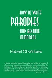 Cover art for HOW TO WRITE PARODIES AND BECOME IMMORTAL
