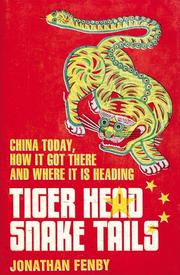Book Cover for TIGER HEAD, SNAKE TAILS
