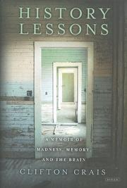 HISTORY LESSONS by Clifton Crais