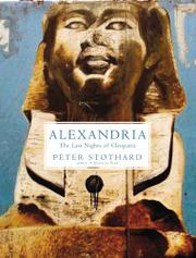 ALEXANDRIA by Peter Stothard