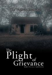 Cover art for THE PLIGHT OF GRIEVANCE