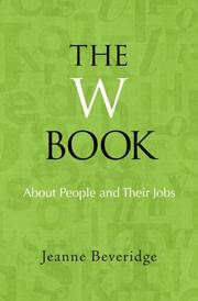 Cover art for THE W BOOK