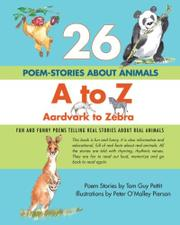 Cover art for 26 POEM-STORIES ABOUT ANIMALS