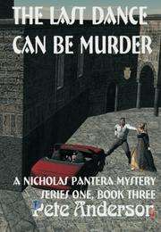 Book Cover for THE LAST DANCE CAN BE MURDER