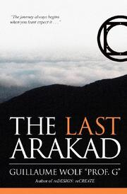 Cover art for THE LAST ARAKAD