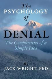 Cover art for THE PSYCHOLOGY OF DENIAL