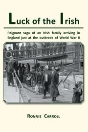 Cover art for LUCK OF THE IRISH
