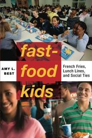 FAST-FOOD KIDS by Amy L. Best