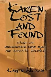 Karen Lost and Found by Karen Wilson