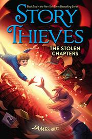 THE STOLEN CHAPTERS by James Riley