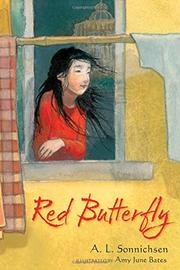 RED BUTTERFLY by A.L. Sonnichsen