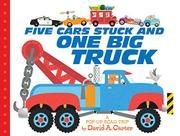 FIVE CARS STUCK AND ONE BIG TRUCK by David Carter