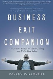 Business Exit Companion by Koos Kruger