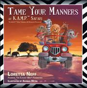 TAME YOUR MANNERS by Loretta Neff