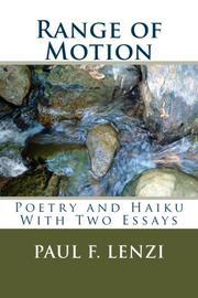 RANGE OF MOTION by Paul F. Lenzi