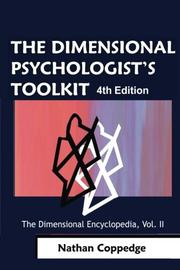 The Dimensional Psychologist's Toolkit by Nathan Coppedge
