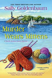 MURDER WEARS MITTENS by Sally Goldenbaum