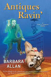 ANTIQUES RAVIN'  by Barbara Allan