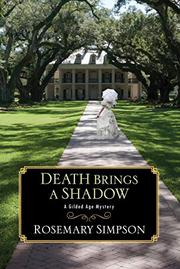 DEATH BRINGS A SHADOW  by Rosemary Simpson