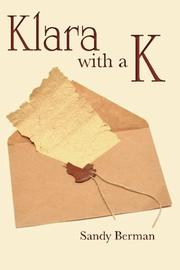 KLARA WITH A K by Sandy Berman