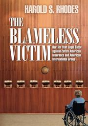 The Blameless Victim by Harold S. Rhodes