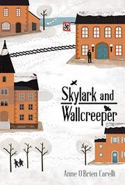 SKYLARK AND WALLCREEPER by Anne O'Brien Carelli