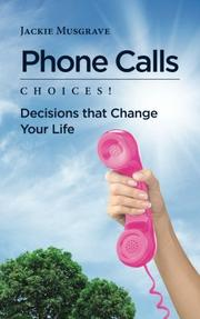 PHONE CALLS by Jackie Musgrave