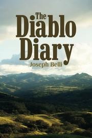THE DIABLO DIARY by Joseph Belli