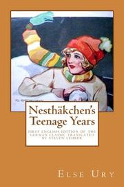 Nesthäkchen's Teenage Years by Else Ury