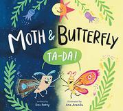 MOTH & BUTTERFLY by Dev Petty
