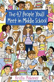 THE 47 PEOPLE YOU'LL MEET IN MIDDLE SCHOOL by Kristin Mahoney