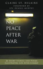 No Peace After War by Claire St. Hilaire