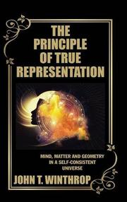 THE PRINCIPLE OF TRUE REPRESENTATION by John T. Winthrop