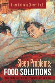 SLEEP PROBLEMS by Diane Holloway Cheney