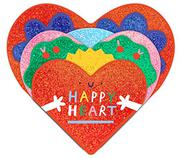 HAPPY HEART by Hannah Eliot