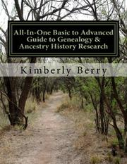 ALL-IN-ONE BASIC TO ADVANCED GUIDE TO GENEALOGY & ANCESTRY HISTORY RESEARCH Cover