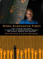 Cover art for WHEN ELEPHANTS FIGHT