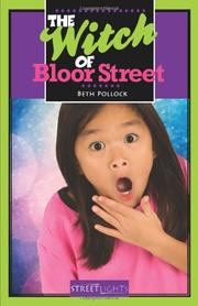 Cover art for THE WITCH OF BLOOR STREET
