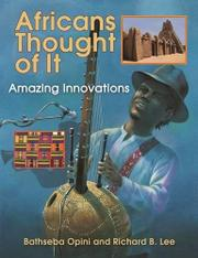 Book Cover for AFRICANS THOUGHT OF IT