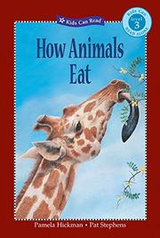 Cover art for HOW ANIMALS EAT