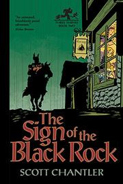 Book Cover for THE SIGN OF THE BLACK ROCK
