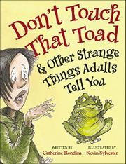 Cover art for DON'T TOUCH THAT TOAD