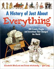 A HISTORY OF JUST ABOUT EVERYTHING by Elizabeth MacLeod